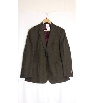Mens tweed jacket medium size by Marks and Spencer M&S Marks & Spencer - Size: M - Brown