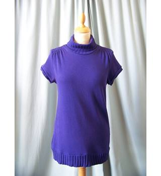 Nasquebasics at Zara - Size: 8 - Purple - Short sleeved shirt