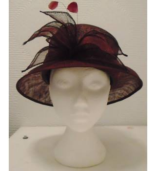 BHS Straw Wedding Hat BHS - Size: Not specified - Purple - Wedding hat