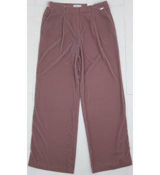 Per Una Size: 12  Pink Blush Trousers