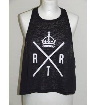 50% OFF SALE Ladies RXTR Vest Top Size S BNWT RXTR - Size: S - Black - Vest