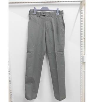 "BNWT MENS M&S Marks and Spencers collection sage Stormwear trousers - Waist 32"" Leg 42"""
