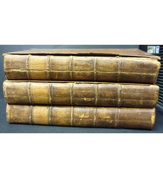 The Works of the Honourable Sir Philip Sidney, In Prose and Verse - including Pembroke's Arcadia (3 Volumes)