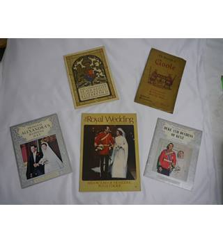 Royal Family Memorabilia Bundle.