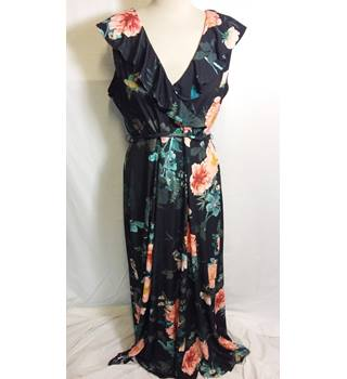 Monsoon floral ruffle maxi dress 18 BNWT Monsoon - Size: 18 - Multi-coloured
