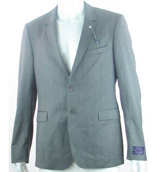 Ted Baker - Size: 40 - Grey - 100% wool - Single breasted suit jacket