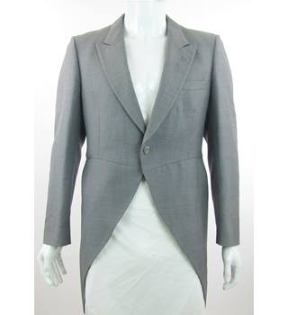 "Moss Bros - Size: 40"" - Grey - Wool - Tail coat suit jacket"