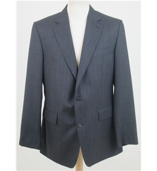 Jaeger, size 42R dark grey pinstripe suit jacket