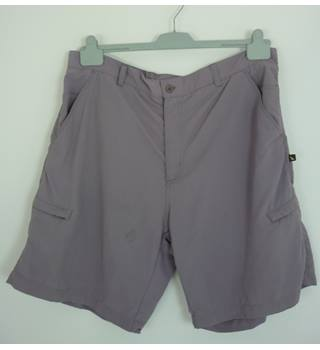 "Hawkshead Size: 38"" waist, 9"" inside leg Signal Grey Casual/Walking Cargo Nylon Shorts"