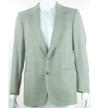 "Magee - Size: 40"" - Brown/Green/Red/Blue - Wool/Cashmere Mix - Single breasted suit jacket"