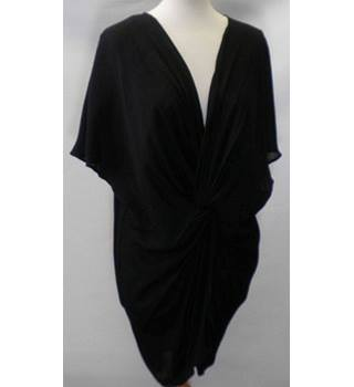 BNWOT M&S Marks & Spencer - Size: S - Black - Batwing Wrap top