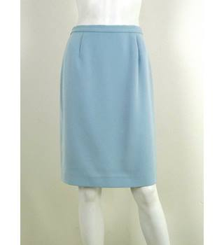Jasper Conran - Size: 10 - Porcelain Blue - Pencil skirt with slit