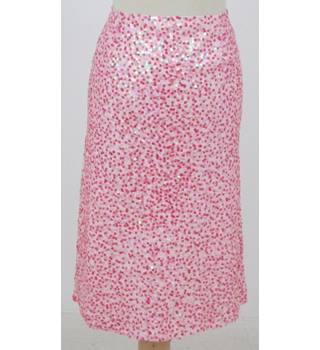 BNWT Warehouse - Size 14 Pink Sequinned skirt