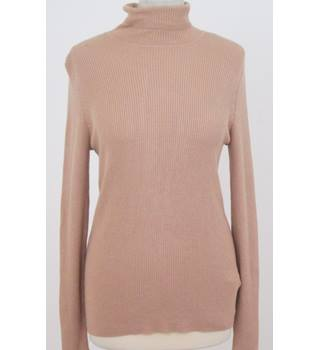 NWOT M&S Marks & Spencer - Size: 12 - Beige - Jumper