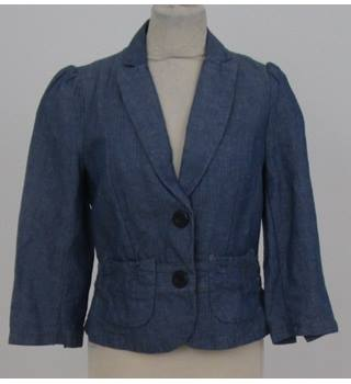 Whistles - Size: 10 - Blue Denim Jacket