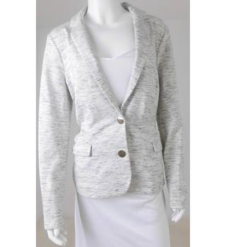 M&S Size 16 Grey Flecked Jacket