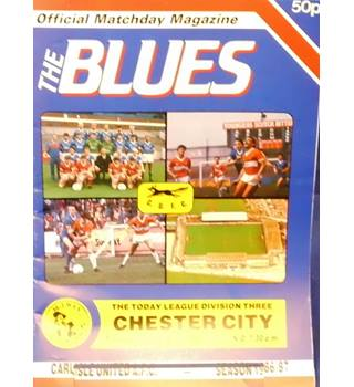 Carlisle United v Chester City - Division 3 - 13th January 1987