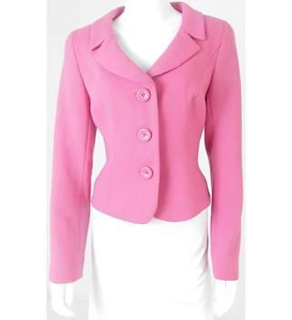 Hobbs Size 12 Flamingo Pink Smart jacket