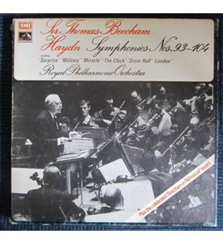 Sir Thomas Beecham, Haydn, Royal Philharmonic Orchestra ‎– Symphonies Nos.93-104 (Box set, 7xLP)