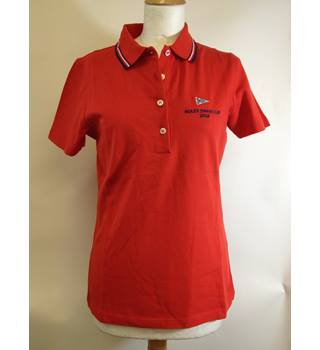 Brand new - Rolex Swan Cup 2016 - Women's fitted red shirt - size M Rolex - Size: M - Red - Polo shirt