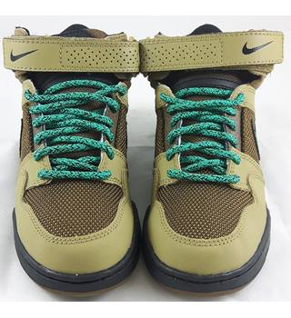Nike Mogan Mid 2 jr - Size 12  - Brown - Childrens Trainers