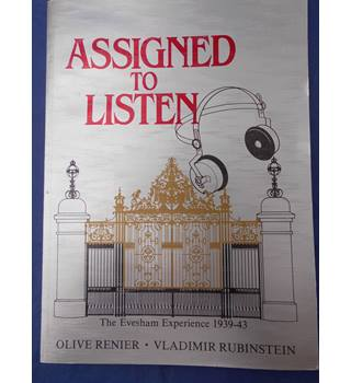 Assigned to Listen