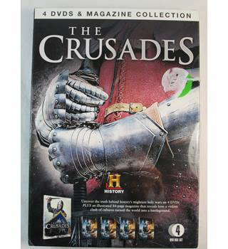 The Crusades - History - 4 DVD + 84-page Illustrated Magazine