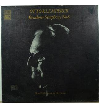 Bruckner - Symphony No. 8 - New Philharmonia Orchestra conducted by Otto Klemperer - SLS 872