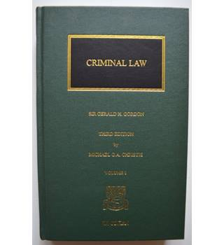 The Criminal Law of Scotland