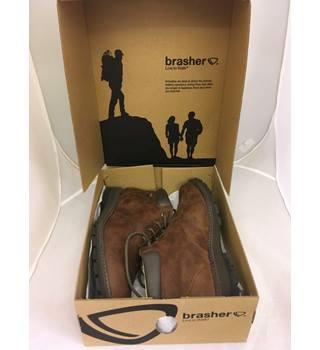32f1b4de5b4 BRASHER Men's Country Traveller Walking Boot Brasher - Size: 12 - Brown |  Oxfam GB | Oxfam's Online Shop
