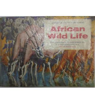 BROOKE BOND PICTURE CARDS - AFRICAN WILD LIFE.