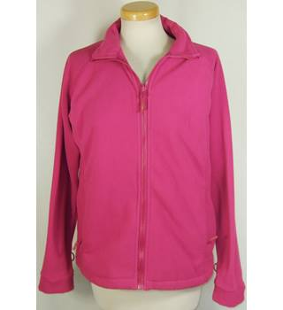 Just Joules size 10 Pink Fleece Zipped Jacket