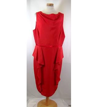 BNWT Coast - Size: 18 - Coral - Knee length dress