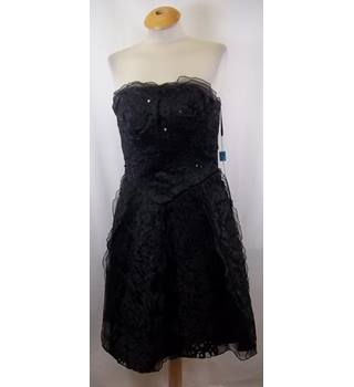 BNWT Monsalina - Size: 12 - Black - Strapless dress