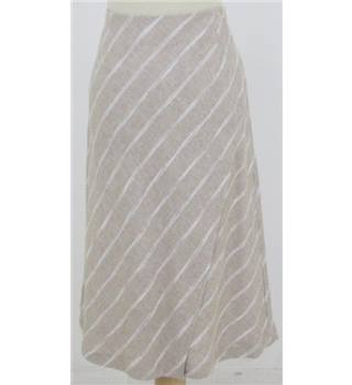NWOT M&S Collection, size 12 stone mix wrap over skirt