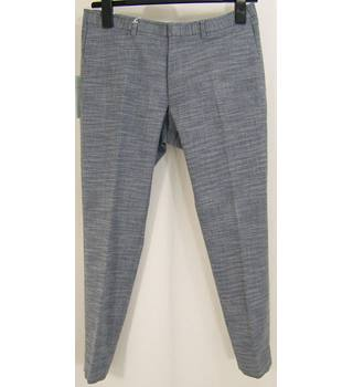 M & S Collection - Size: W32/L29 - Mid Blue - Trousers