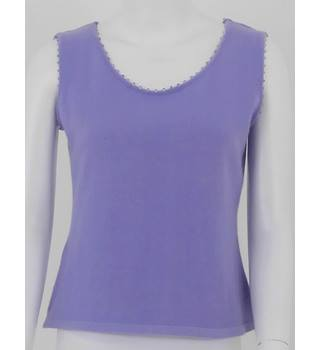 Denockdesigns 14 Lilac Cashmere Tank Top