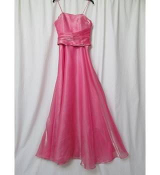 Papillon London - Size: XS - Pink Shimmery - Full length Evening/Bridal