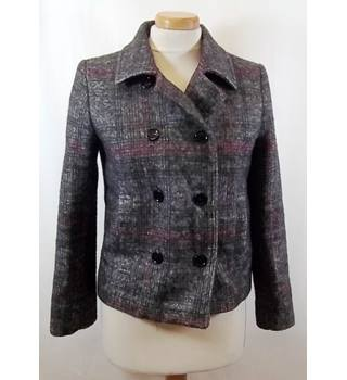 Zara - Size:EUR XS - Multi-coloured - Smart coat