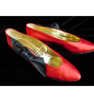 Walter Steiger Vintage Shoes Size: 6 - Red - Court shoes