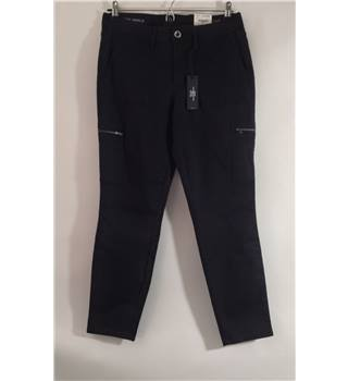 "BNWT ANA size 32"" black skinny ankle cropped jeans"