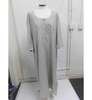 WOMENS Wall London long length beige dress - SIZE L Large Wall London - Size: L - Beige - Long dress