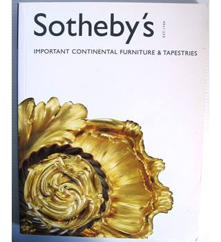 Sotheby's Important Continental Furniture & Tapestries: 12 December 2001