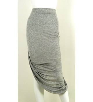 ONLY Plain Grey Skirt Size S