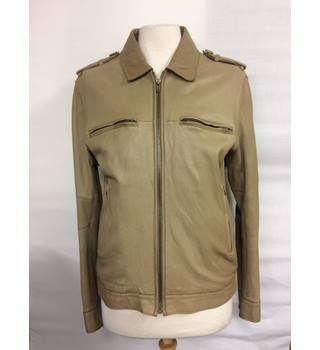 COS leather jacket COS - Size: S - Brown