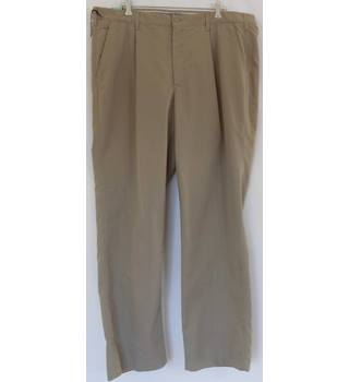 Blue Harbour Size 42'' Waist Stone Coloured Chinos