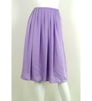 Marks & Spencer Collection Lilac Knee-Length Skirt UK Size 16 / Euro Size 44