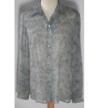 Monsoon Women's grey size 14 blouse