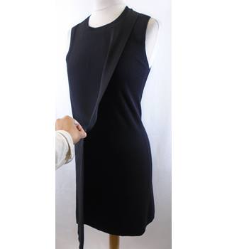 THEORY - Size: XS - Black - Knee length dress - Wool / Silk