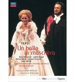 uciano Pavarotti - Verdi - Un Ballo In Maschera [DVD] [2003] Non-classified